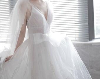 Wedding dress bridal dress Ivory Baroque lace wedding gown bridal gowns lace bridal dress ball gown bridesmaid dress formal dress
