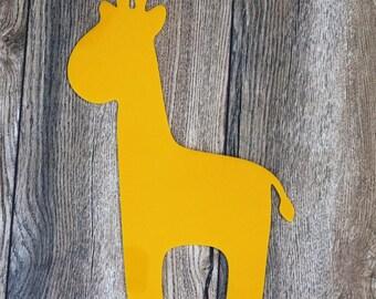 Giraffe : Laser Cut Acrylic Wall Decor Jungle Animal