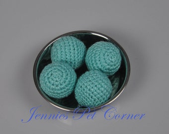 Aruba Sea Unique Cat Toys - Cat Toy Balls - Cat Balls - Cat Gifts - Gifts For Cats - Cat Lover Gifts - Pet Toys - Crochet Cat Toy