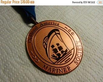 Summer Sale Holland America Mariner Society 100 Days Copper Award Medal
