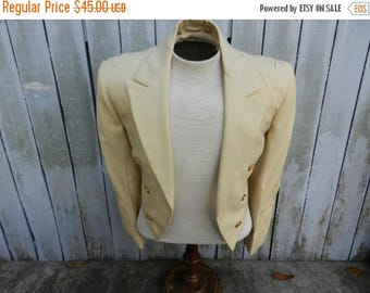 Summer Sale Post WW2 US Army Officers White Dinner Jacket with Pants Named