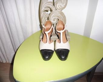 Salome vintage JEAN GABORIT size 39 en leather pumps