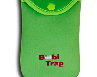 "BoobiTrap - Bright Green (Large - 6""L X 4 1/8""W) Item 202"