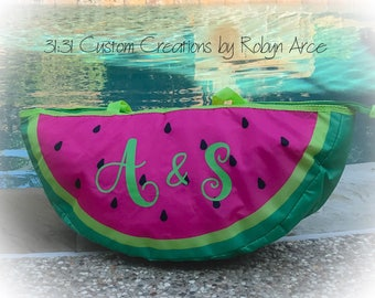Personalized Cooler Bag - Insulated Cooler Bag - Personalized Cooler Tote - Insulated Cooler Tote - Watermelon Cooler Tote - Cute Cooler Bag