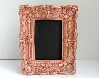 copper frame copper home decor copper wall art copper decor copper wedding - Copper Home Decor