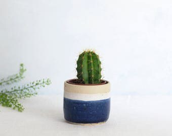 Midnight Mini Planter // Planter // Succulent // Plant pot // Coastal inspired // New home // Cactus // Herb pot