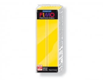 Fimo clay Professional yellow pure - 350 g