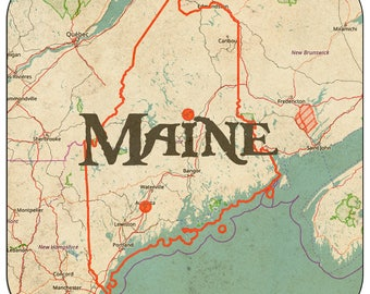 Maine Coasters & Other Merchandise