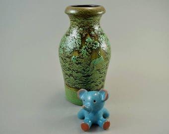 Vintage vase / Scheurich / 523 18 / rare glaze | West-german pottery | 60s