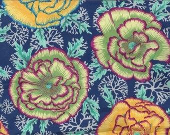 KAFFE FASSETT Henley blue fabric