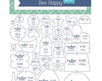 Sew Simple Shapes Bee Happy by Lori Holt for Riley Blake Designs- 33 Pieces