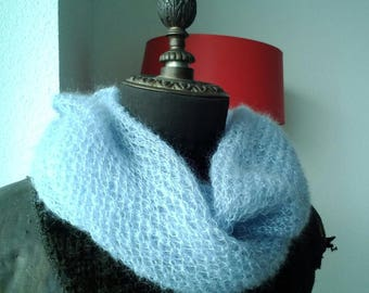 Soft mohair shawl