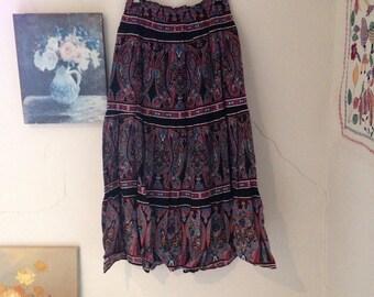 Ethnic vintage dress
