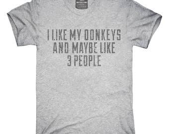 Funny Donkey Owner T-Shirt, Hoodie, Tank Top, Gifts