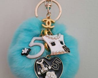 Fashionable Pompom Keychain/ Bag Accessories