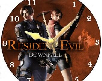Resident Evil CD clock