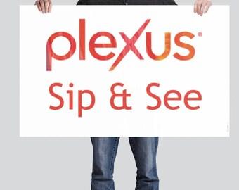 Plexus Vinyl Event Banner