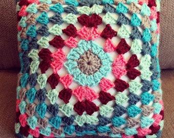 Create Your Own Design - Crochet Stripe Pillow