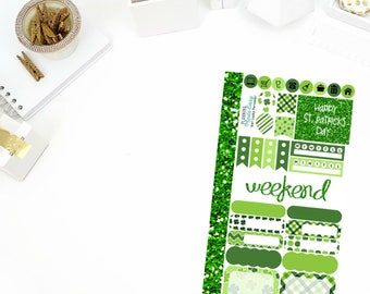 Get Lucky Personal Weekly Kit! Perfect for your Erin Condren Life Planner, calendar, Paper Plum, Filofax!