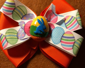 Happy easter Hair Bow