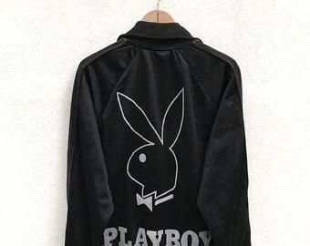20% OFF Vintage Playboy Zipper Jacket / Playboy Big Logo / Playboy Sweater / Hip Hop Streetwear Swag