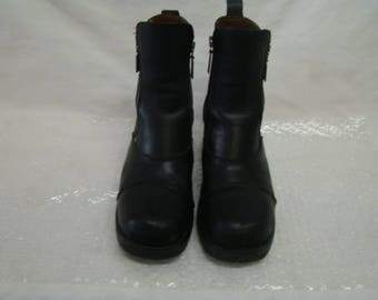 """Womens HARLEY DAVIDSON """"Starter Switch"""" Motorcycle Riding Boots  82016 Size 8.5"""