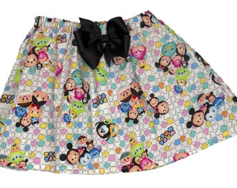 TSum  skirt,  Girl Skirt,  Girl birthday skirt, Girl Tsum skirt, baby Skirt , Toddle  skirt, Skirts