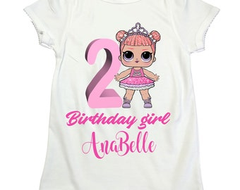 LOL surprise doll Center Stage shirt LOL girl birthday shirt Lol Surprise girl birthday Lol shirt  lol surprise dolls birthday