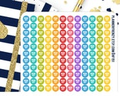 216 Tiny Workout Icon Planner Stickers! HF151
