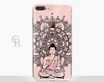 Buddha iPhone 7 Clear Case For iPhone 8 iPhone 8 Plus - iPhone X - iPhone 7 Plus - iPhone 6 - iPhone 6S - iPhone SE - Samsung S8 - iPhone 5