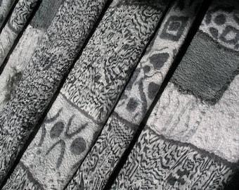 """Nuno felt shawl scarf """"Lunar"""""""
