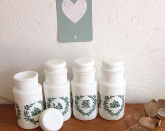 Set of 4 jars fellow style