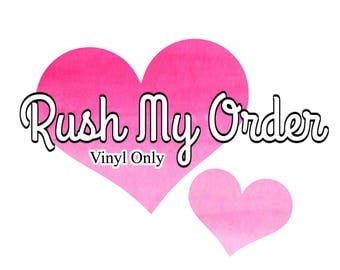 Rush My Order - Vinyl Orders Only