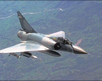 Poster, Many Sizes Available; Dassault Mirage 2000