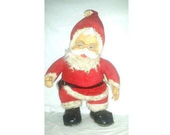 Vintage Rushton Santa, LARGE, RUBBER FACE Santa, Rushton Star Creations, Rushton Santa, Rubberface Santa, Kitsch, Circa 1950s