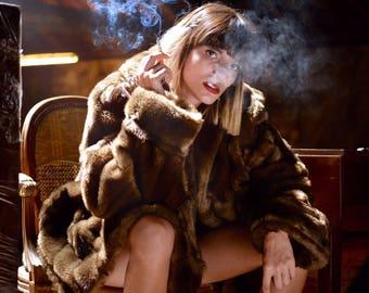 vintage fur coat jean louis paris