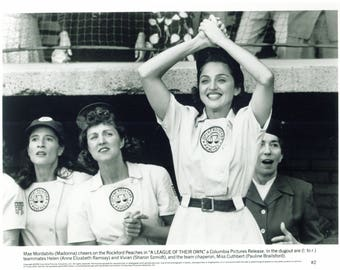 Madonna A League Of Their Own Rare Vintage 8x10 Stamped Movie Lab photo  Movie Collection Press Photo