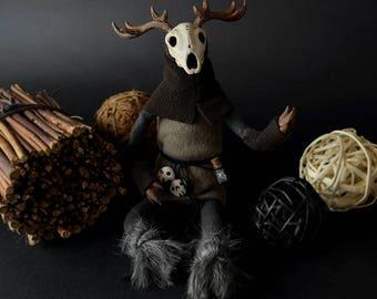SALE! LESHY Art Doll Forest Guardian