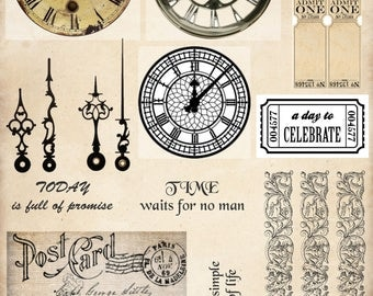 Time Cut & Create Ephemera