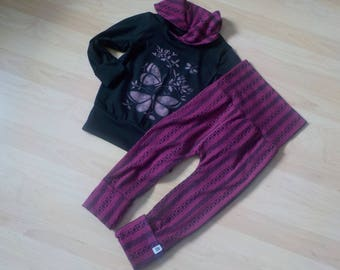 evolutive pants and sweater scalable