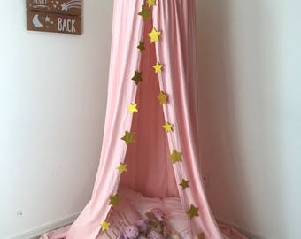 Play tent, princess tent, pink tent, modern tent, reading tent, shabby chic, bed canopy, reading tent