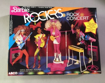 Barbie Rockers in box