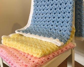Baby Crochet Blanket Square