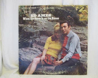 Ed Ames When the Snow is on the Roses Record LP Album
