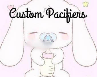 Custom Adult Pacifiers
