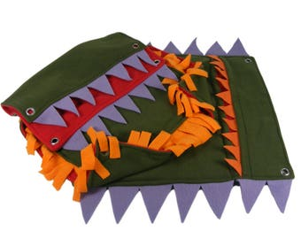 Rat Hammock - Ferret Hammock - Monster Hammock - Animal Hammock - Rat Toy - Ferret Toy - Rat Accessories - Ferret Accessories - 3 Piece Set