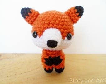 PATTERN: Freddy the Little Fox Amigurumi, Crocheted Woodland Fox Pattern, Fox Toy Tutorial, PDF Crochet Pattern