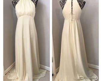 Vintage 70s Wedding Dress   Vintage Wedding Dress