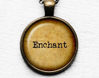 Enchant Pendant and Necklace