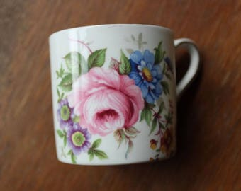 Vintage Aynsley Demitasse Cup Fine Bone China Made in England